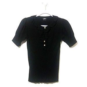 XOXO Black Sweater Top Size M